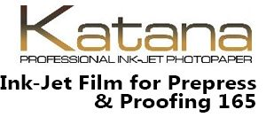 Ink-jet Film for Prepress & Proofing 165