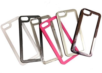 Е2 CASE iPHONE5 BRUSHED SILVER case only (no insert)