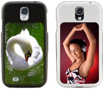 Ж2 GALAXY S4 CASE WHITE 2 PC