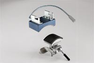 Cap accessory composed of  a lower and an upper base for TS-2M/TS/3M