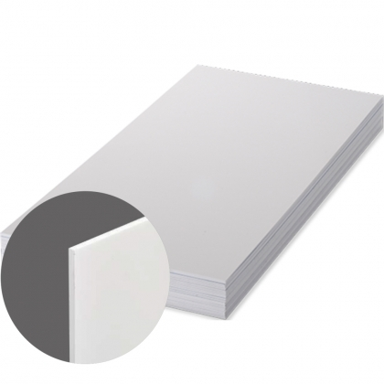 FRP UNISUB - White, Matte, Two-sided, 1200 x 600 x 2.28 mm