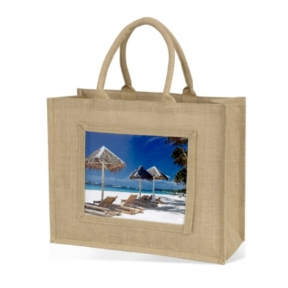 ADV Adventa Jute Bags - Large (Natural) (box-12)