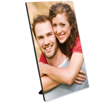 Hardboard Gloss White Flat Top Photo Panel With Kickstand 8