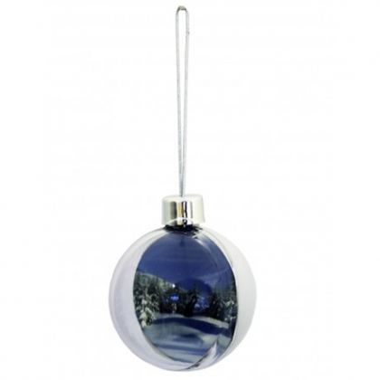 ADV Bauble Decoration Ice White (box-72)