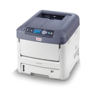 OKI Pro4411WT LED printer A4 with white toner