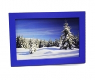 "Solo Mount Magnet 4 x 6""- Blue- inc. clear high-gloss cover"