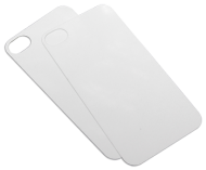 Aluminium insert for switchcases for iPhone 4/4s White gloss
