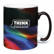Satin ColourChange PhotoMug - 10 oz Earthenware Mug - CC1001