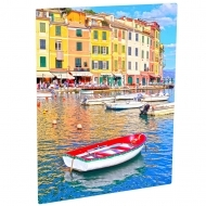 Photo Panel, Aluminium, White, Gloss, 203.2 x 254 x 1.14mm