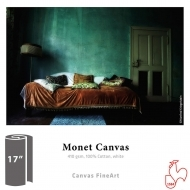 "Monet Canvas - Roll 17"" x 12 m"