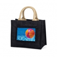 ADV Adventa Jute Bags - Small (Black) (box-12)