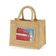 ADV Adventa Jute Bags - Small (Natural) (box-12)
