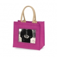 ADV Adventa Jute Bags - Medium (Pink) (box-12)