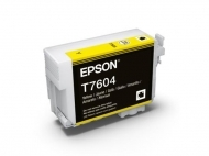 Yellow ink - Epson SC-P600 - T7604
