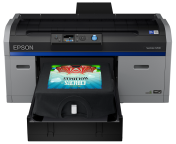 Epson SureColor SC-F2100 DTG CMYK+WHITE printer for direct-to-garment digital textile printing - best prices from FACTOR.BG