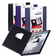 Mitsubishi EasyGifts Maxi Album for 10 photos 20x25cm Portrait and Window Assorted Colors