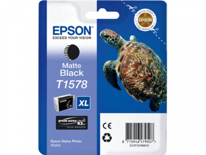 Matte BLACK ink cartridge for Epson R3000 - T1578
