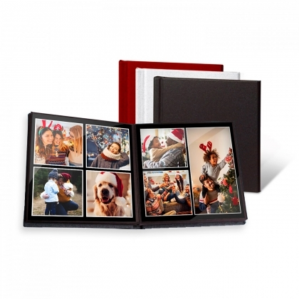 Mitsubishi EasyGifts SquareAlbum 15X15 20 photos Black