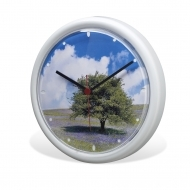 ADV Wall Clock - White  (box-18)