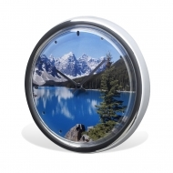ADV Wall Clock - Chrome (box-18)