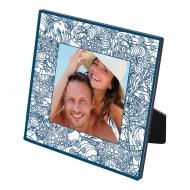 В5 CL - Square photo panel with easel, HDF, White, Gloss,  150 x 150 х 6.35 mm, (16/box)