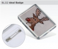 ADV Ideal Badge - Clear (box-500)
