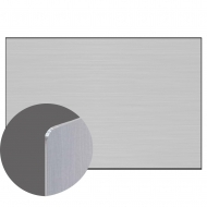 Aluminium Sheetstock - Clear, Matte, One-sided, 1200 x 600 x 1.14 mm