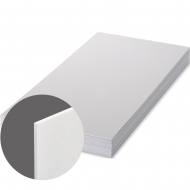 FRP UNISUB - White, Matte, Оne-sided, 1200 x 600 x 2.28 mm