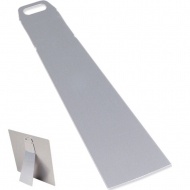 "Aluminum Clear Large Metal Easel For Aluminum Photo Panel 2.8"" x 9.2"" / 70 x 235 mm, 20 pcs/ box"
