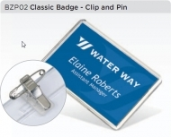 ADV Classic Badge with Clip & Pin (box-500)