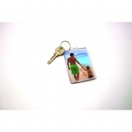 Reclaim Ideal Keyring Red (insert size 35 x 50 mm) (box-500)