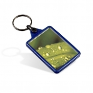 Reclaim Ideal Keyring Blue (insert size 35 x 50 mm) (box-500)