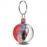 ADV Sphere Key Fob - with Connector and Ring (insert size 38 mm) Clear-Clear (box-250)