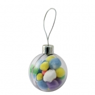 ADV Bauble Decoration Clear (box-36)