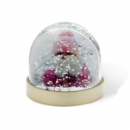 ADV Snow Dome with Metallic Base (box-36)