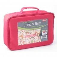 "ADV Photo Lunch Box - 6 x 8"" - Pink (box-25)"