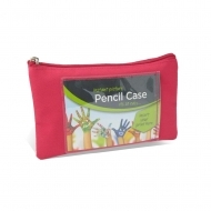 "ADV Photo Pencil Case - 4 x 6"" - Pink (box-25)"