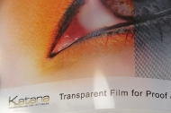 Katana Ink-Jet Film for Prepress and Proofing
