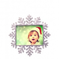 Maxi Size Snowflake Magnet- Clea
