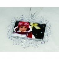 Adventa Maxi Size Snowflake Magnet- Clear